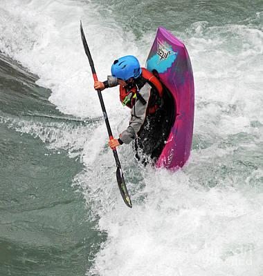 Photograph - Kayaking 1 by Vivian Christopher