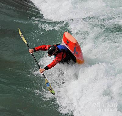 Photograph - Kayaking 3 by Vivian Christopher