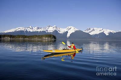 Kayaking Favorite Passage Print by John Hyde - Printscapes
