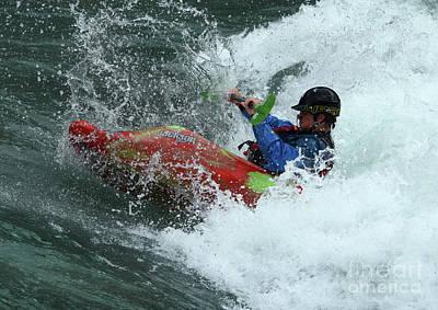 Photograph - Kayaking Magic Of Water 1 by Bob Christopher