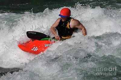 Photograph - Kayaking Magic Of Water 2 by Bob Christopher