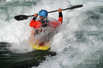 Photograph - Kayaking Magic Of Water 12 by Bob Christopher