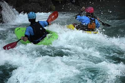 Photograph - Kayaking Magic Of Water 13 by Bob Christopher