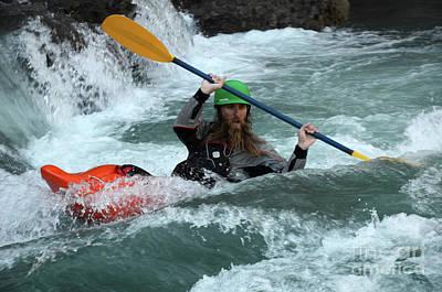 Photograph - Kayaking Magic Of Water 3 by Bob Christopher