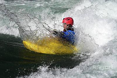 Photograph - Kayaking Magic Of Water 4 by Bob Christopher
