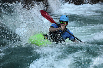 Photograph - Kayaking Magic Of Water 8 by Bob Christopher