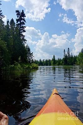 Photograph - Kayaking Nature's Beauty by Sandra Updyke