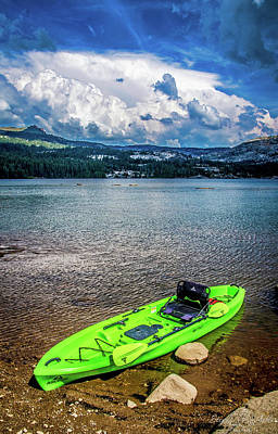 Photograph - Kayaking by Steph Gabler