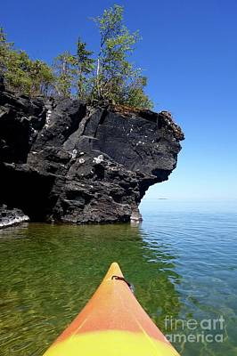 Photograph - Kayaking Superior by Sandra Updyke