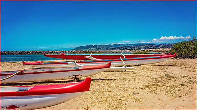 Photograph - Kayaks by Jody Lane