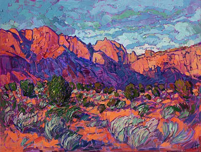 Painting - Kayenta Sands by Erin Hanson