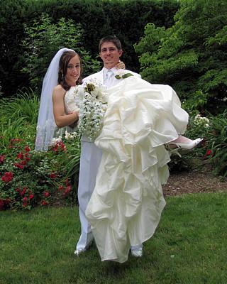 Photograph - Kayla Jeff Wedding Sample 3 by George Jones