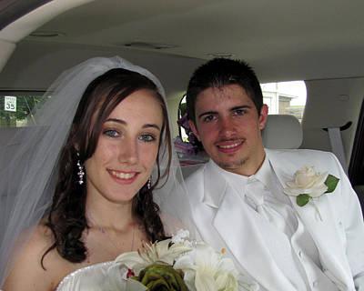 Photograph - Kayla Jeff Wedding Sample 4 by George Jones