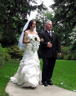 Photograph - Kayla Jeff Wedding Sample 6 by George Jones