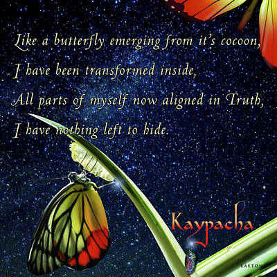 Digital Art - Kaypacha - July 19, 2017 by Richard Laeton