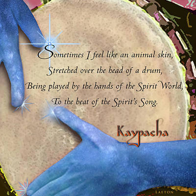 Spirt Digital Art - Kaypacha  May 18, 2016 by Richard Laeton