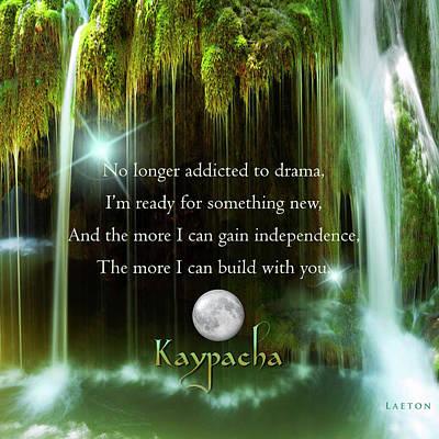 Kaypacha - November 10, 2016 Art Print by Richard Laeton