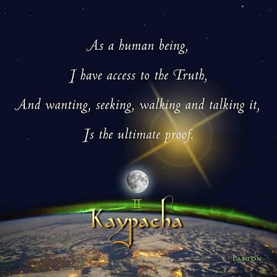 Digital Art - Kaypacha - November 29, 2017 by Richard Laeton