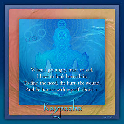 Kaypacha's Mantra 6.24.2015 Art Print