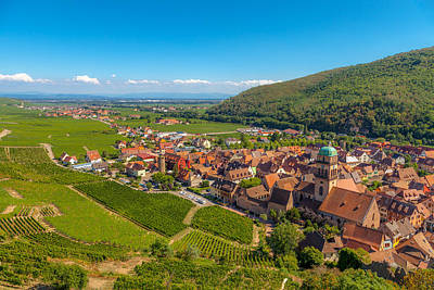 Kaysersberg Photograph - Kaysersberg -  Along The Alsatian Wine Route by W Chris Fooshee