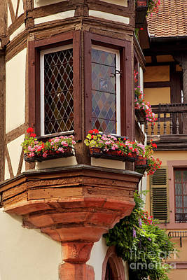 Photograph - Kaysersberg Window by Brian Jannsen