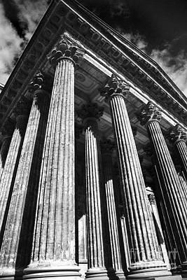 Photograph - Kazan Cathedral Colonnade by Elena Nosyreva