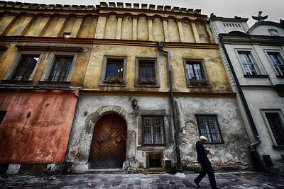 Photograph - Kazimierz  Jewish Quarter In Krakow Poland by Robert Woodward