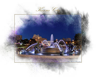 Photograph - Kc Fountain by Marty Maynard