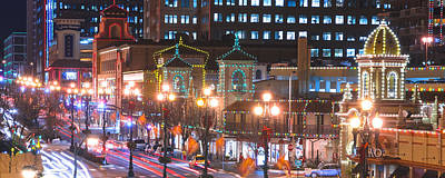 Photograph - Kc Plaza Lights by Ryan Heffron