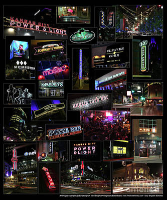 Photograph - Kc Power And Light District by Gary Gingrich Galleries