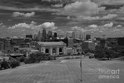 Photograph - Kc Skyline by Lisa Plymell