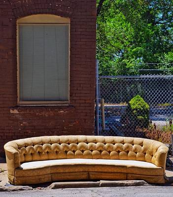 Photograph - Kc Sofa by Gia Marie Houck