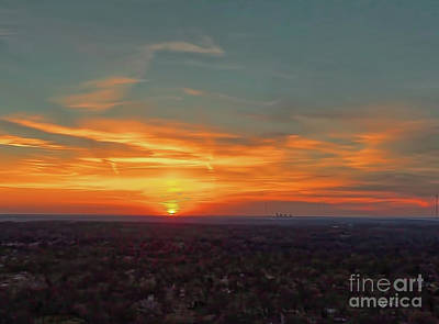 Photograph - Kc Sunset by Dave Luebbert