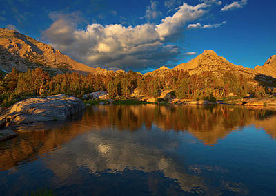 Mountain Royalty-Free and Rights-Managed Images - Kearsarge Lakes II by Brian Knott Photography