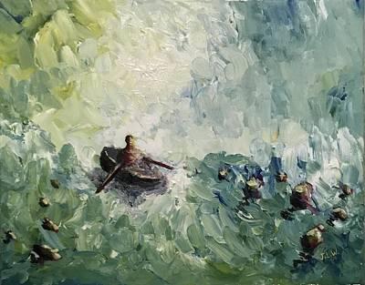 Painting - Keaton by Justin Lee Williams