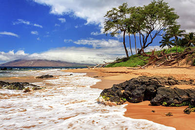 Photograph - Keawakapu Beach - Mokapu Beach by James Eddy
