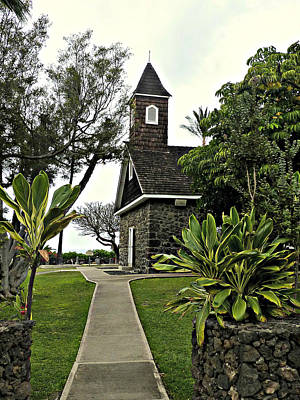 Keawala'i Congregational Church Art Print