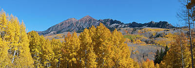 Photograph - Kebler Pass Autumn Panorama by Cascade Colors