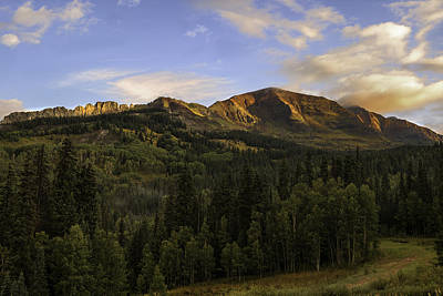 Photograph - Kebler Pass Colorado  by Expressive Landscapes Fine Art Photography by Thom