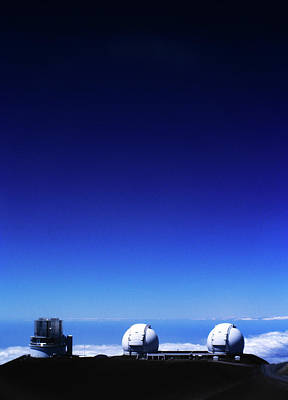 Keck Photograph - Keck Observatory by Brian Puyear
