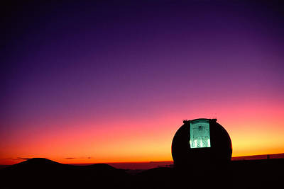 Keck Photograph - Keck Observatory by Peter French - Printscapes