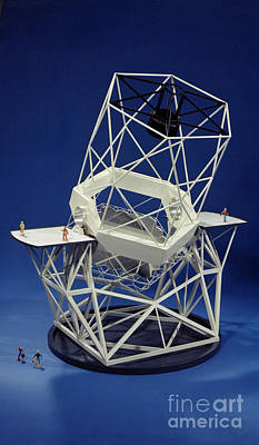 Keck Photograph - Keck Observatorys Ten Meter Telescope by Science Source