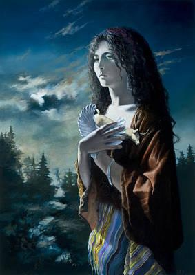 Painting - Gormenghast - Keda by Carol Phenix