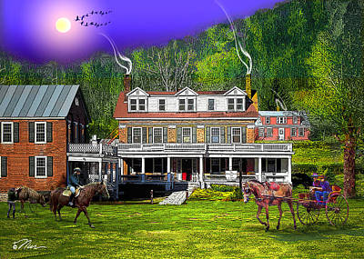 Photograph - Kedron Valley Inn by Nancy Griswold