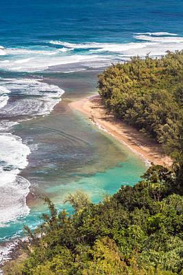 Photograph - Kauai's Kee Beach by Pierre Leclerc Photography