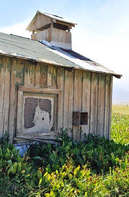 Death Valley Photograph - Keeler Barn by Kyle Hanson