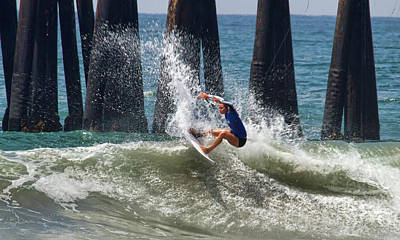 Photograph - Keely Andrew Surfer Girl by Waterdancer