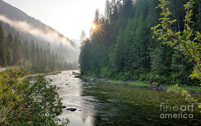 Photograph - Keely Creek Dawn by Idaho Scenic Images Linda Lantzy