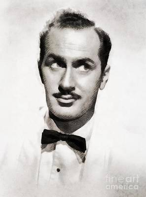 Keenan Wynn, Vintage Actor By John Springfield Art Print by John Springfield