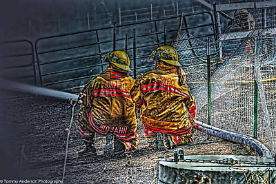 Fireground Photograph - Keep Fire In Your Life No 10 by Tommy Anderson